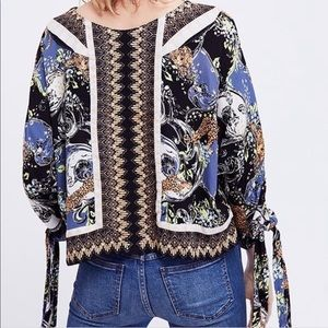 Free People Catch Me if You Can Top Black
